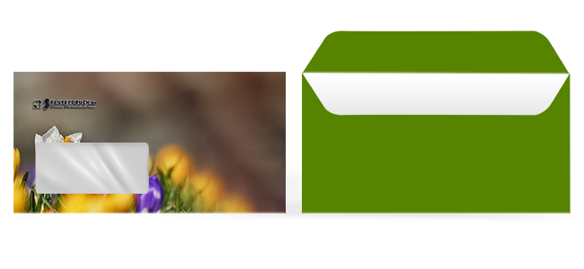 Stauferdruck - Briefumschlaege