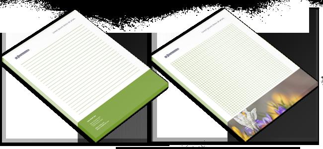 Stauferdruck - Schreibblocks